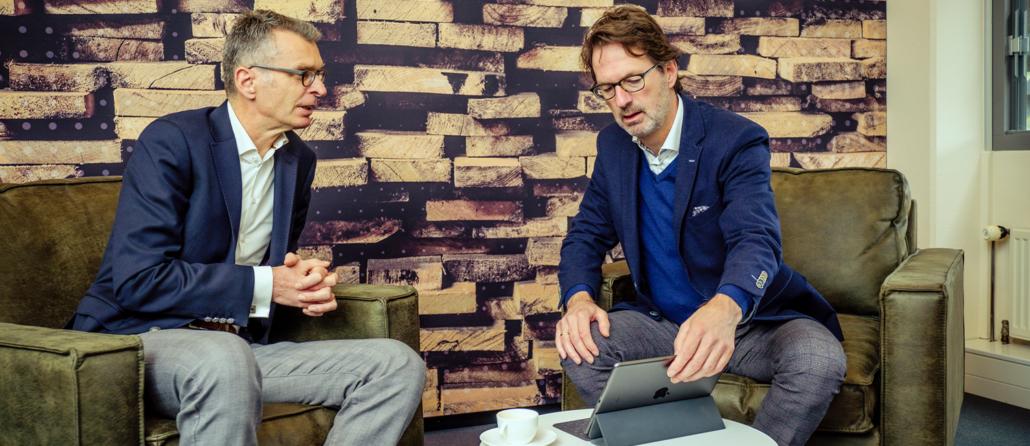 Ton Kroonen en René Hendriks